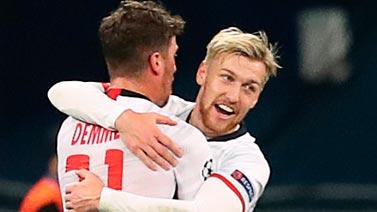 [欧冠]德姆禁区外远射破门 莱比锡客场1-0领先