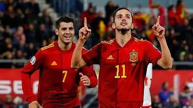 [国际足球]西班牙锁定小组