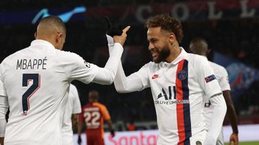 [圖]歐冠-內馬爾發威姆巴佩傳射 巴黎大勝出線