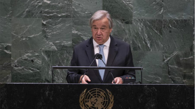 Int'l cooperation only way to defeat COVID-19, climate emergency: UN chief
