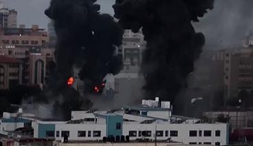 《今日关注》 20210517 以色列发动本轮最致命空袭 至暗时刻和平曙光何在?