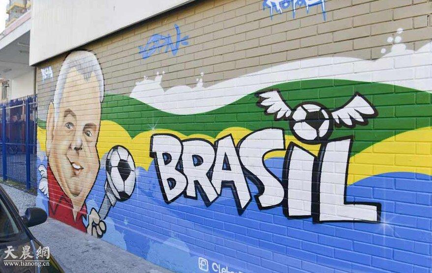 des graffitis colorés donnent de la vie aux rues de la cité