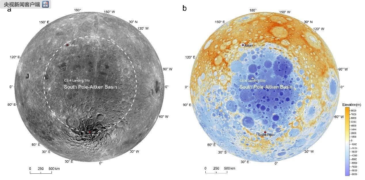 月球背面幔源物质