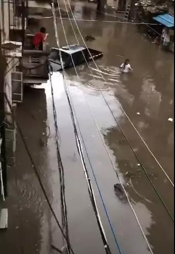△市区战备大桥附近居民区