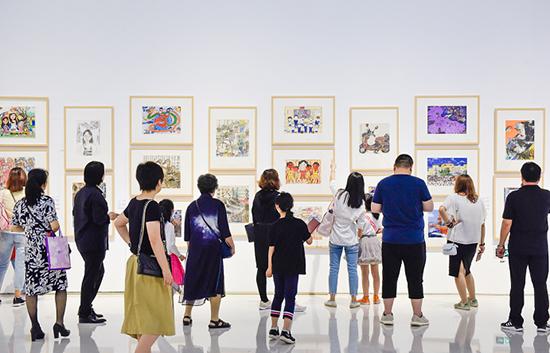 全国青年美术作品展_首届全国少儿美术作品展在京开幕_书画_央视网(cctv.com)