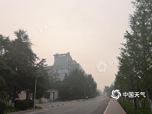 """双休日北京变""""蒸笼""""最高温36℃西部北部多雷阵雨"""