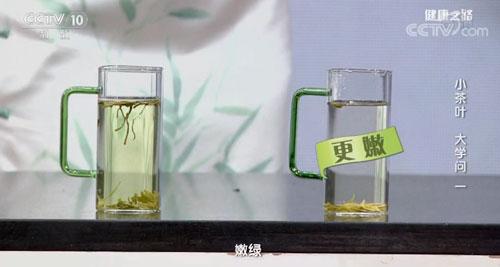 汤色越绿说明绿茶越嫩,是真的吗?