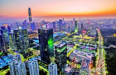 深圳尽力挨制下量量开展天下范例 。 材料图片
