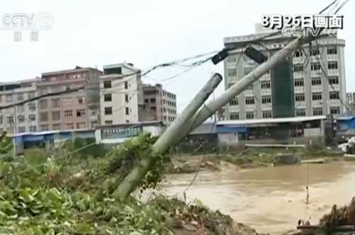 广西容县:部分村镇受灾 生产自救有序展开