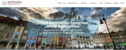 IUAES2019年中期会议官方网站