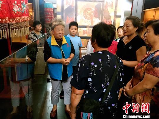 七旬志愿者吴玲玲:博物馆里的老北京故事
