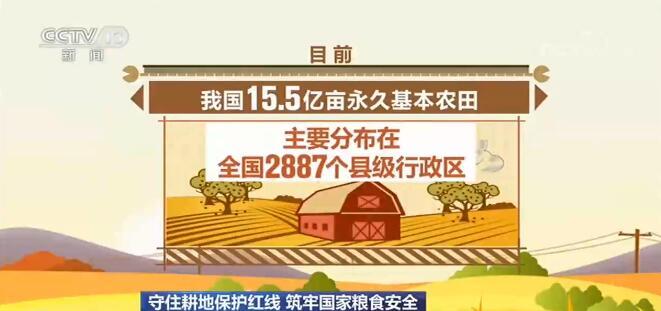 我国将建立国家永久基本农田数据库 压实保护耕地责任
