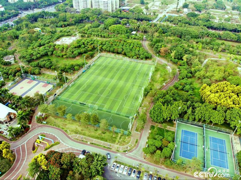 宝安西湾公园足球场