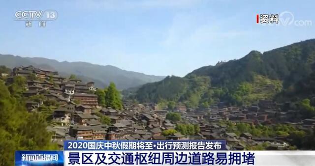 2020国庆中秋假期出行预测报告发布 提前规避易堵塞地区