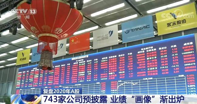 """沪深两市743家上市公司发布2020年业绩预告 """"预披露""""进入高峰期"""