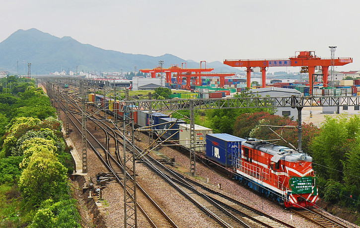 Yiwu–Madrid railway