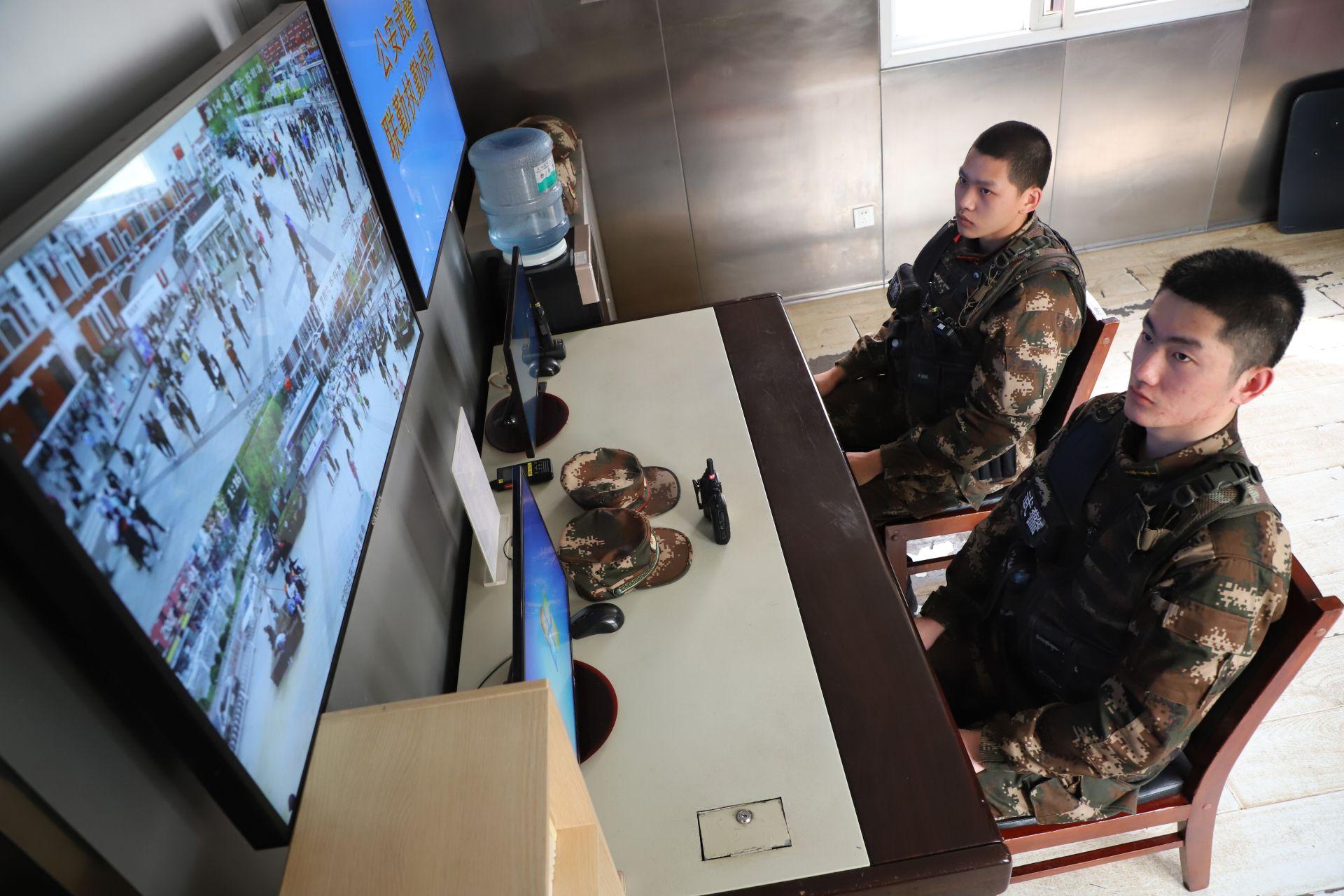 五一小长假 武警沈阳支队官兵全时坚守战位保安全插图