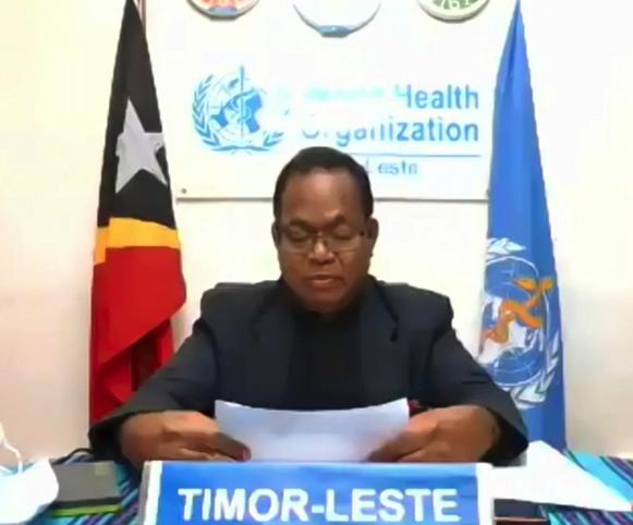 """第74届世界卫生大会多国代表感谢中国援助 重申""""一个中国""""原则插图"""