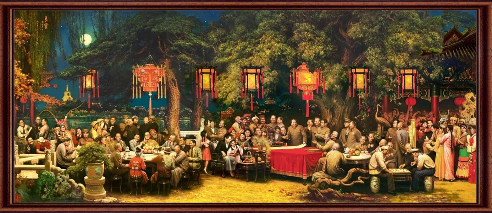 刘宇一 《良宵》 油画  1982年