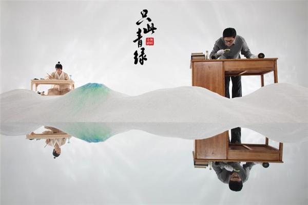《只此青绿》——舞绘《千里江山图》剧照。中国东方演艺集团供图